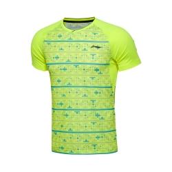 Футболка мужская для бадминтона Li-NING AAYL009-2