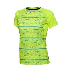 Футболка женская для бадминтона Li-NING AAYL014-2