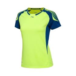 Футболка женская для бадминтона Li-NING AAYL036-3