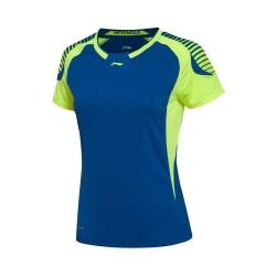 Футболка женская для бадминтона Li-NING AAYL036-4