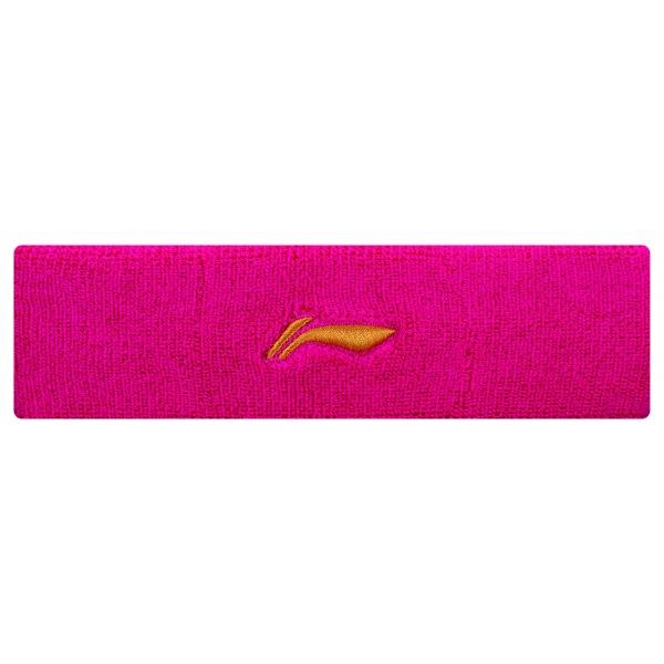 Повязка на голову унисекс (розовая) LI-NING AQAP016-3