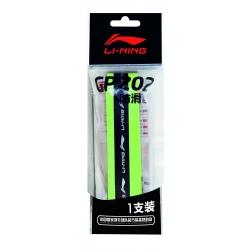 Намотка на ракетку тонкая с фиксирующим профилем (салатовая) LI-NING AXJH026-6