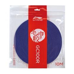 Намотка на ракетку махровая (синяя) 10м бобина LI-NING AXJP012-1