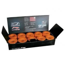 Намотка на ракетку тонкая (уп 10 шт) оранжевая LI-NING AXSF002-5