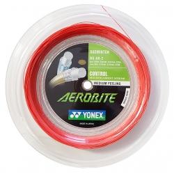 Струна Yonex Aerobite Boost Дл:0,67/Поп:0,61 мм Белая/Красная (200м)