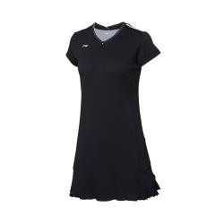 Платье с шортами (черное) Li-NING ASKP114-4
