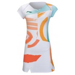Платье с шортами (белое) Li-NING ASKR010-3