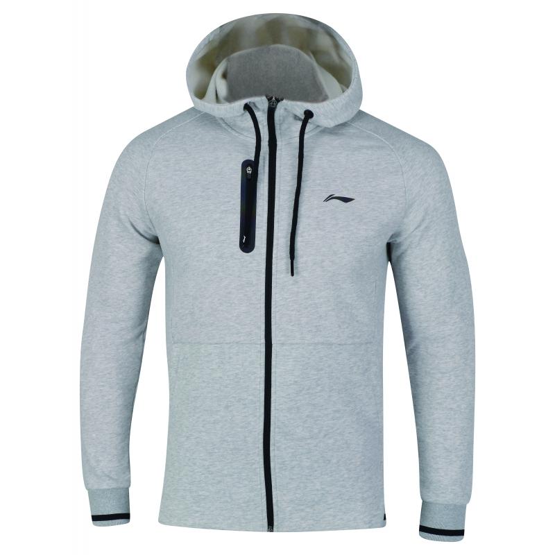 925fef14709f9 Купить олимпийку с капюшоном мужская/Hoody (серый) Li-NING AWDN945-2 ...
