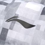Пуховик с капюшоном женский (серый) Li-NING AYMN082-1