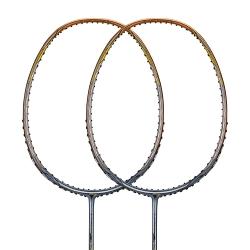 Ракетка для бадминтона Li-Ning 3D Calibar 900 Золотой и Серый AYPM426-1