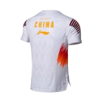 Футболка мужская для бадминтона нац. сборной (белая) Li-NING AAYN005-5