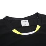 Футболка женская для бадминтона нац. сборная (черная) Li-NING AAYN072-2