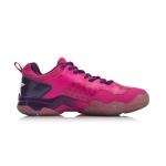 Кроссовки женские для бадминтона Sonic Boom (розово-фиолетовые) Li-NING AYZN006-2