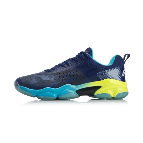 Кроссовки мужские для бадминтона Sonic Boom (синие) Li-NING AYZN009-2
