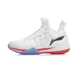 Кроссовки мужские для бадминтона Cool Shark (белые) Li-NING AYZP005-1
