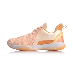Кроссовки женские для бадминтона Vortex (розовые) Li-NING AYZQ002-2