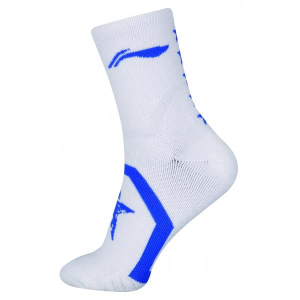 Носки мужские высокие (бел/син) Li-NING AWLN059-3