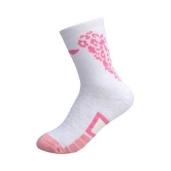 Носки женские высокие (бел/розовые) LI-NING AWLP066-2