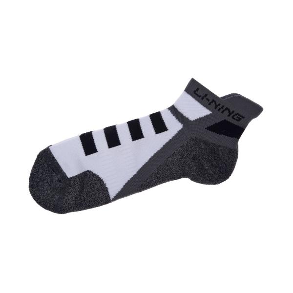 Носки мужские низкие (бел/черн) Li-NING AWSM207-1