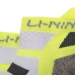 Носки мужские низкие (бел/салат) Li-NING AWSM207-3