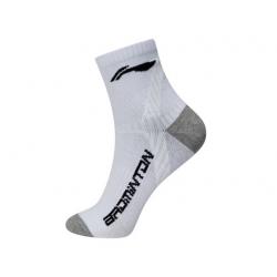 Носки мужские высокие (бел/черн) Li-NING AWSM209-1