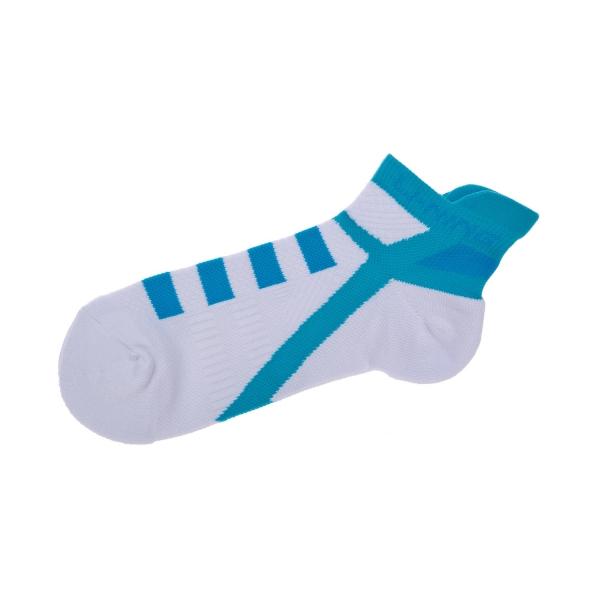 Носки женские низкие (бел/голуб) LI-NING AWSM224-1