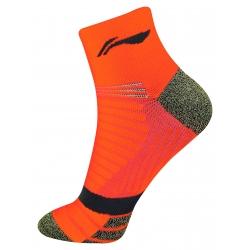 Носки мужские высокие (флуорисцент оранж) Li-NING AWSN241-4