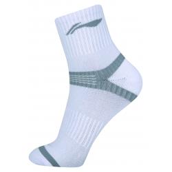 Носки мужские высокие (белые) Li-NING AWSN243-1