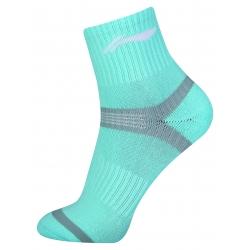Носки женские средние (голубые) Li-NING AWSN318-2