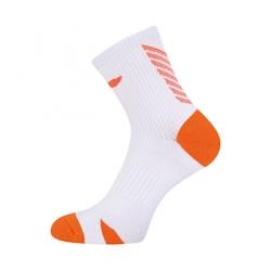 Носки мужские высокие (бел/оранж) Li-NING AWSP189-2