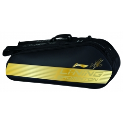 Сумка для бадминтона 6 ракеток Chen Long (черн-золотая) Li-NING ABJN098-1